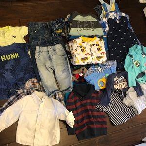 Huge baby boy bundle 12-18months clothes 36 pieces